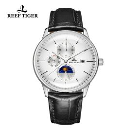 Seattle Philosopher White Dial Steel Case Automatic Watch