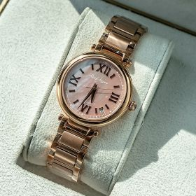 Love Luthier Rose Gold Pink Dial Automatic Ladies Watches RGA1595-PPP