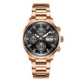 Seattle Captain Rose Gold Automatic Mechanical Men Watch RGA1659-P