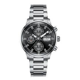 Seattle Captain Steel Automatic Mechanical Men Watch RGA1659-YBY