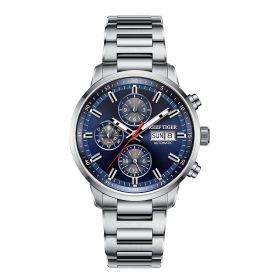 Seattle Captain Steel Automatic Mechanical Men Watch RGA1659-Y