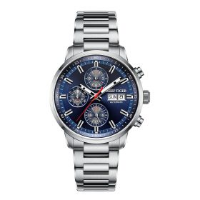 Seattle Captain Steel Automatic Mechanical Men Watch RGA1659-YLY