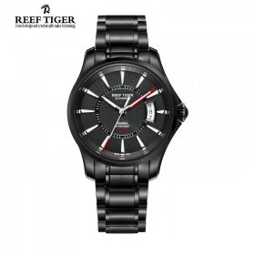 Seattle Space Needle Black Dial Full DLC Automatic Watch