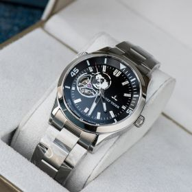 Seattle Columbus Black Dial Stainless Steel Watches RGA1693-2-YBY