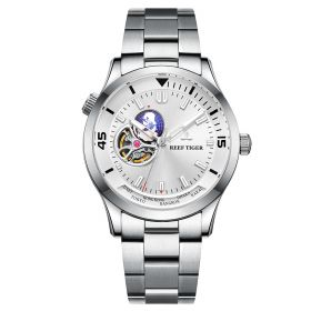 Seattle Columbus White Dial Stainless Steel Watches RGA1693-2-YWY