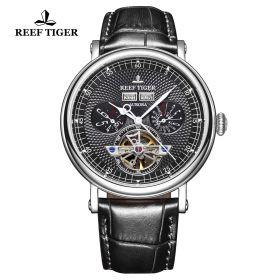 Artist Limner Steel Case Black Dial Automatic Watch