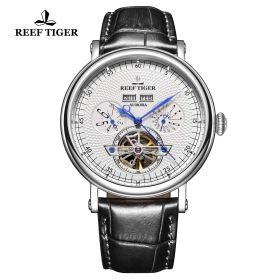 Artist Limner Steel Case White Dial Automatic Watch