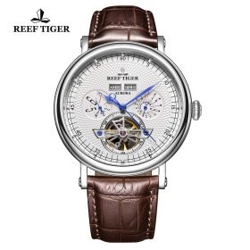Artist Limner White Dial Steel Case Automatic Watch