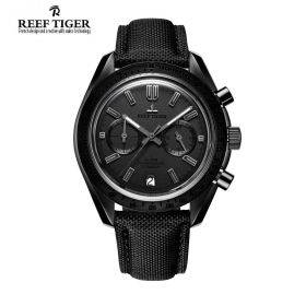 Aurora Illidan PVD Black Dial Quartz Men's Watch