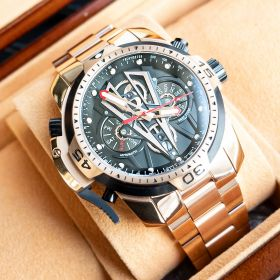 Aurora Concept II Complicated Rose Gold Automatic Stainless Steel Men Fashion Mechanical Sport Waterproof Watches RGA3591-PBP