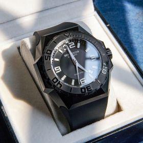 Aurora Black Shark Sport Watches All Black Dive Watches Automatic Watch RGA6903