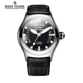 Aurora Ocean Speed Black Dial Steel Automatic Mens Watch