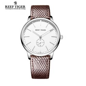 Classic Vintage Couple Watch White Dial Steel Watch For Men