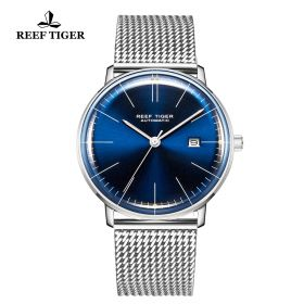 Classic Legend Mens Stainless Stell Blue Dial Automatic Watch