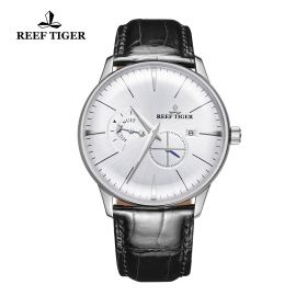 Classic Artisan White Dial Mens Steel Automatic Watch