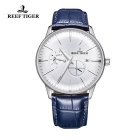Classic Artisan White Dial Steel Mens Automatic Watch