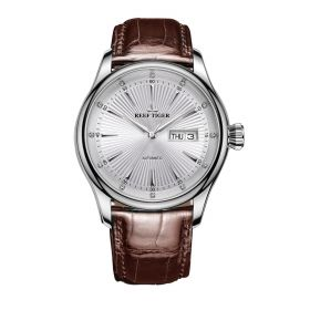 Classic Heritage II White Dial Steel Automatic Men's Watch