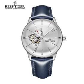 Classic Glory White Dial Steel Mens Automatic Watch