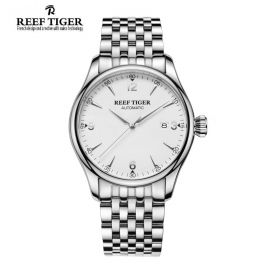 Classic Heritage Steel White Dial Mens Automatic Watch