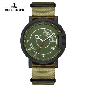 1980S Limited Edition PVD Green Dial Arabic Numeral Markers Watch