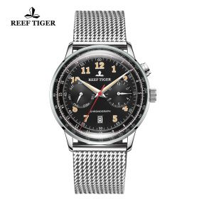 Respect Limited Edition Black Dial Automatic Watch