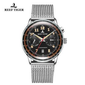 Respect Limited Edition Automatic Black Dial Watch