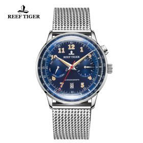 Respect Limited Edition Bule Dial Automatic Watch