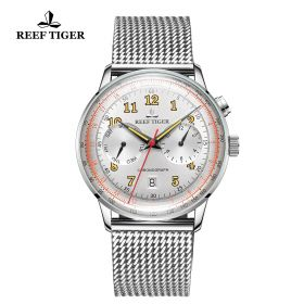 Respect Limited Edition White Dial Automatic Watch