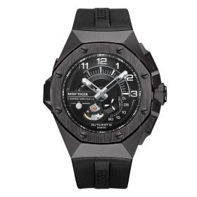 Limited Edition V Series Sports All Black Automatic Military Watches RGA92S7