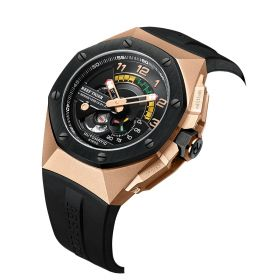 Limited Edition V Series Sports Rose Gold Automatic Military Watches RGA92S7